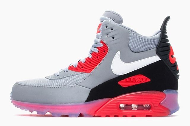 Nike Air Max 90 Sneakerboot Ice Infrared 3