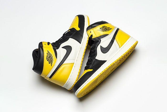 Air Jordan 1 Yellow Toe Ar1020 700 Release Date Pair2