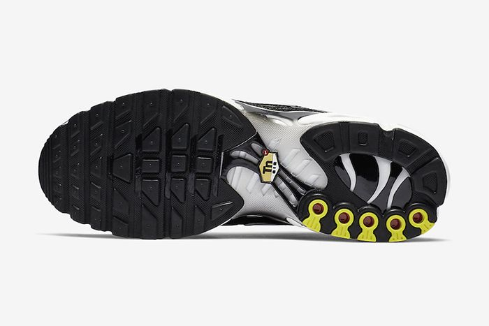 Nike Air Max Plus Black Reflective Silver Release Date Outsole