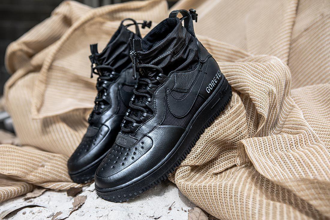 Nike Air Force 1 High Gore Tex Black
