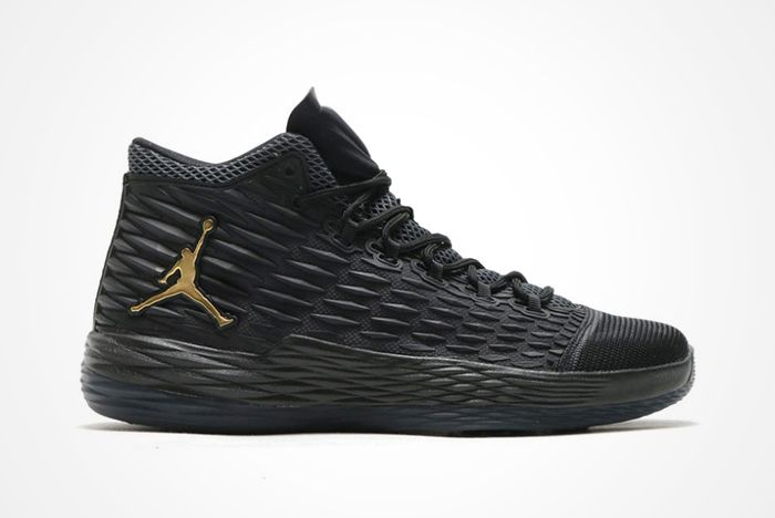 Jordan Melo M13 Revealed In Black Goldfeatureimg