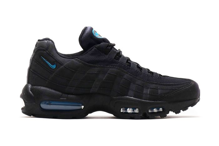Atmos Nike Air Max 95 Black Imperial Blue Cj7553 001 Release Date Lateral