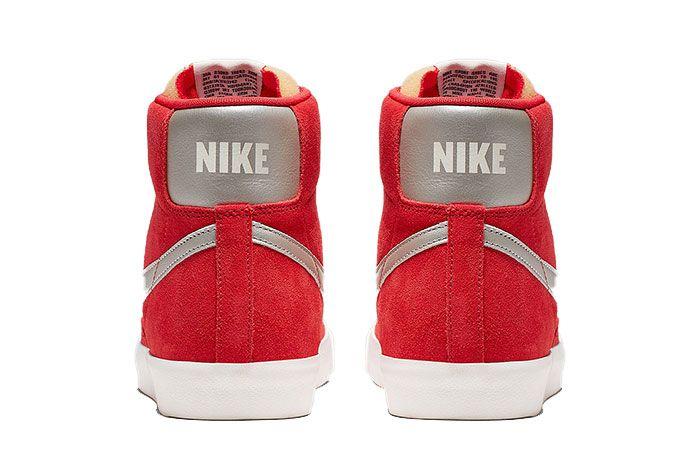 Nike Blazer Mid Vintage Red Cj9693 600 6 Heel