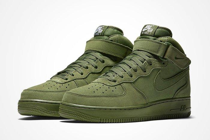Nike Air Force 1 Mid Olive6