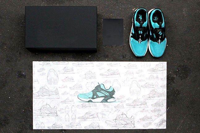 Puma Cove Blue Sneaker 1