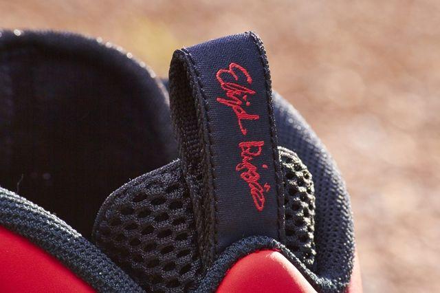 Nike Air Foamposite 1 Doernbecher Heel Tab