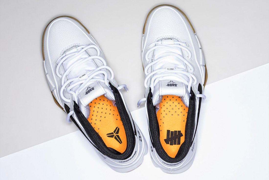 Nike Undefeated Zoom Kobe 1 Proto White 1