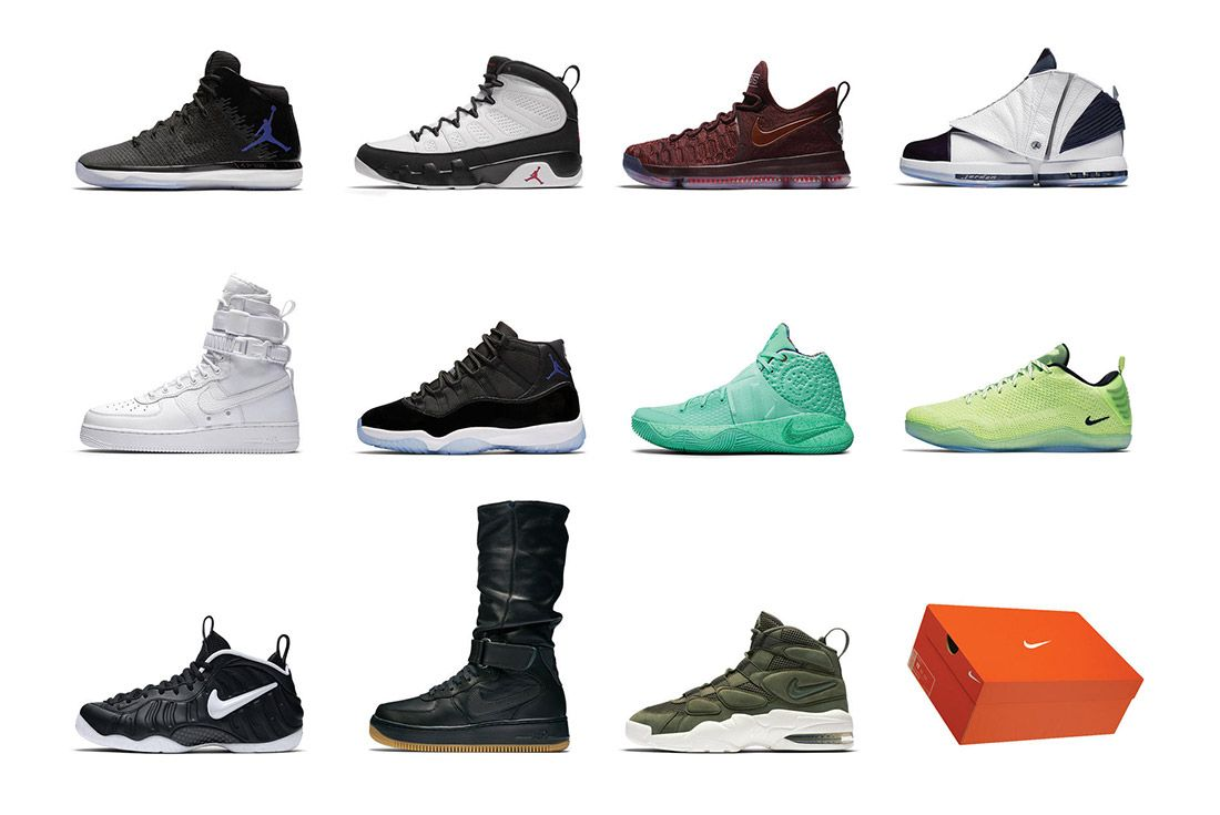 Nike 12 Soles Collection