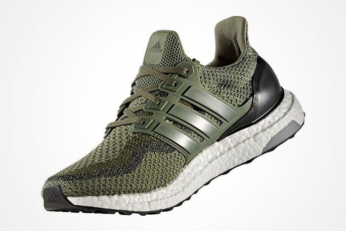 Adidas Ultra Boost Olive Green 3