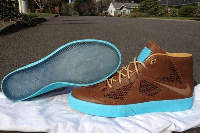 Nike Lebron X Lifestyle Nrg Leather Outsole 1