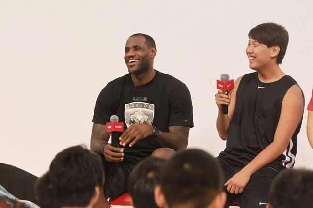 Lebron James Interview 1