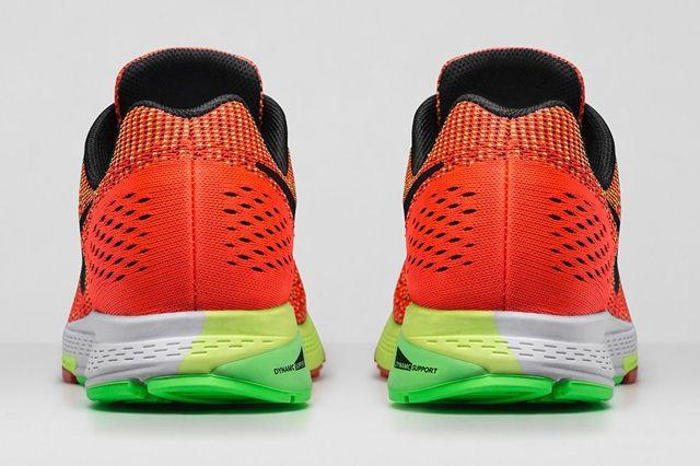 Nike Zoom Structure 19 Bright Crimson Volt 3