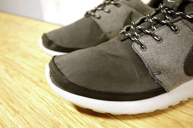 Nike Roshe Run Premium Nrg Grey Details 1