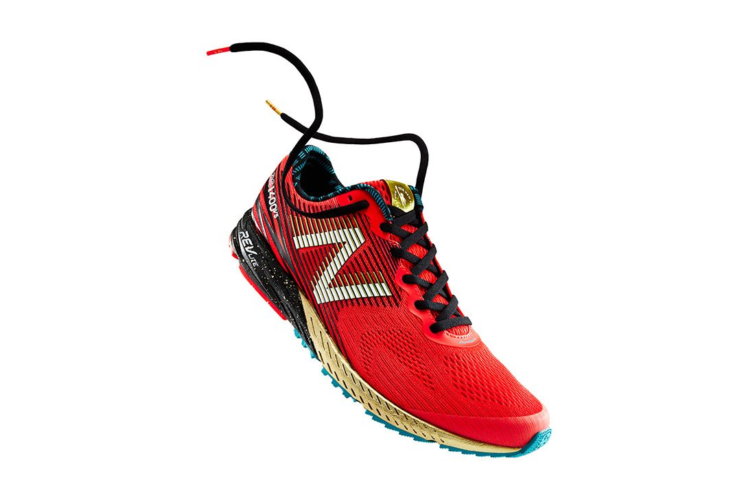 New Balance 1400V5 Red Nyc Marathon 2017 Hero