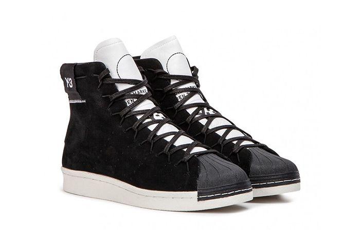 Y 3 Super High Black White 2