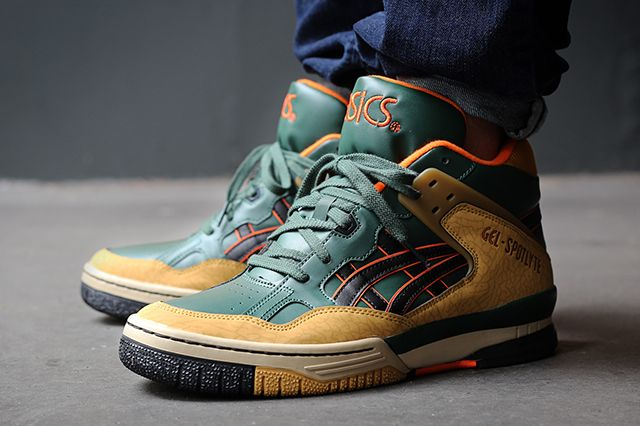 Asics Gel Spotlyte Dark Green