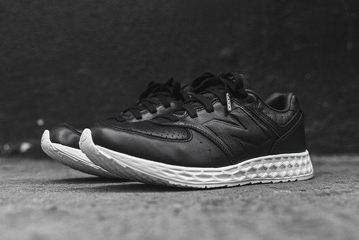 New Balance 574 Fresh Foam Black Leather 2