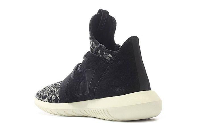Adidas Tubular Defiant Snake W Black White 5