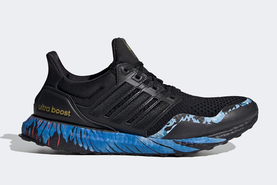 Adidas Ultraboost Cny Black Blue Right