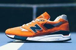 New Balance 998 Orange Navy 2