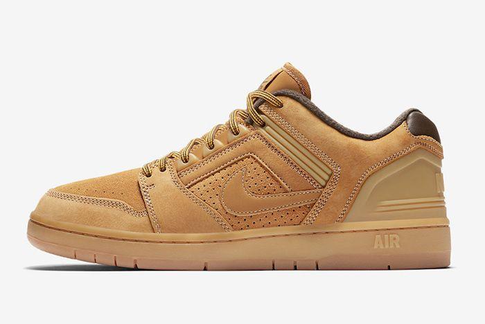 Nike Sb Air Force 2 Low Wheat 1