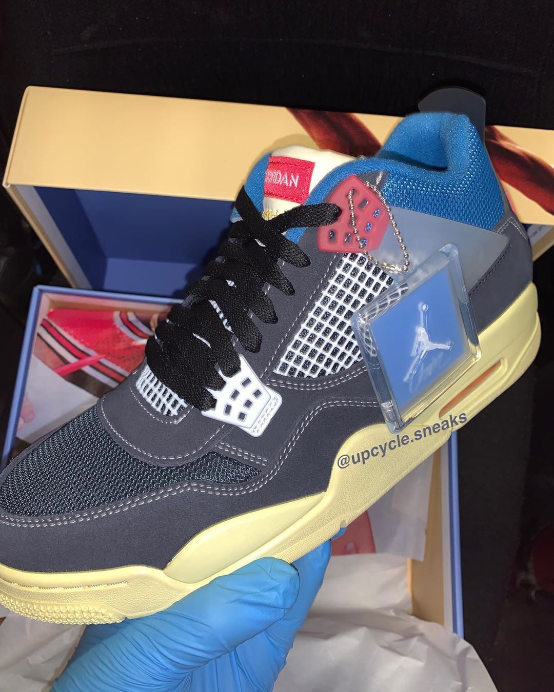 Union x Air Jordan 4 Leak