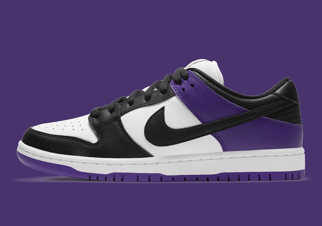 Nike SB Dunk Low Court Purple BQ6817-500
