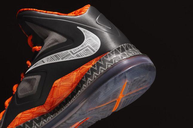 Nike Bhm Lebron X Heel 1