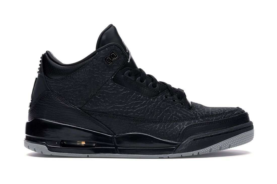 Black Flip Air Jordan 3 Best Feature