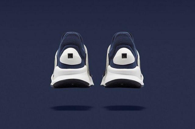 Fragment Nike Sock Dart Navy 3