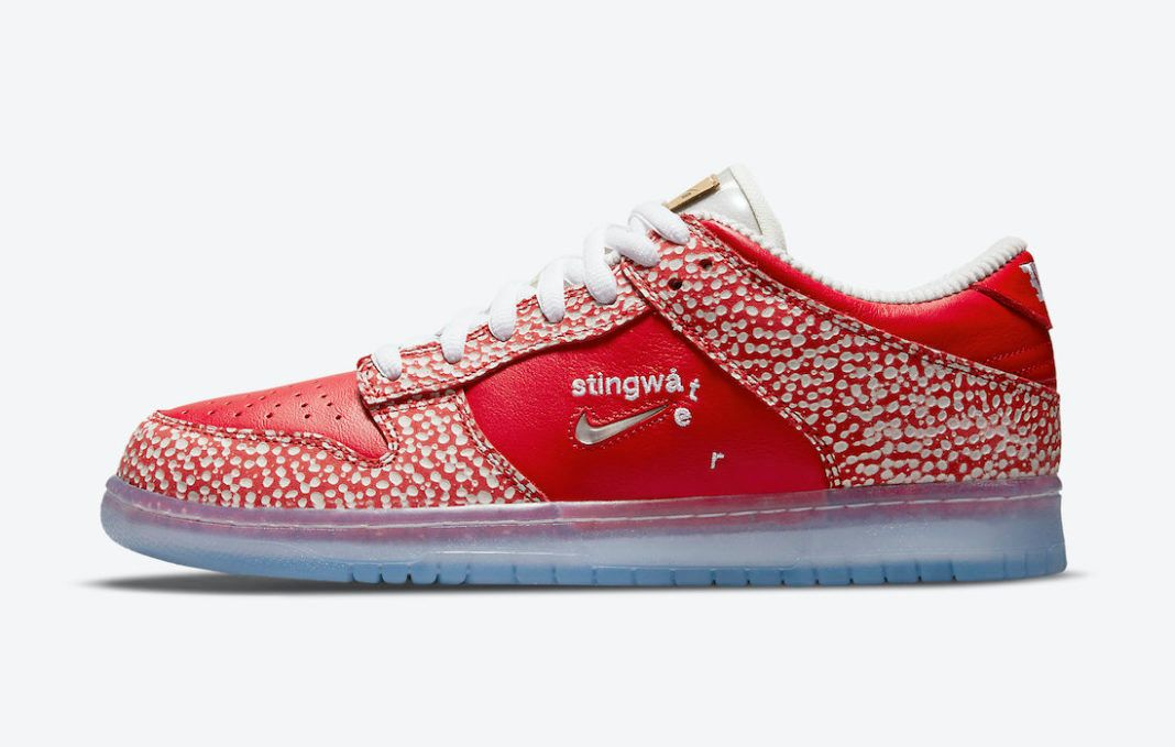 Stingwater x Nike SB Dunk Low 'Magic Mushroom' official shots