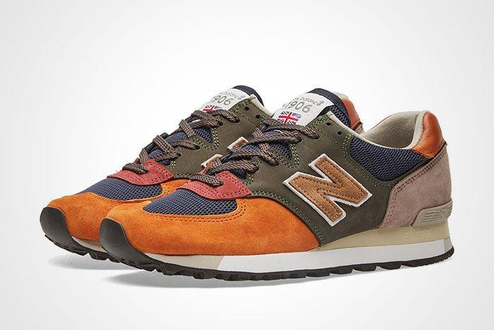 New Balance Made In England Surplus Pack Green Navy 575 Thumb
