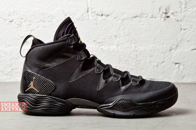 Air Jordan Xx8 Lite Black Metallic Gold 3