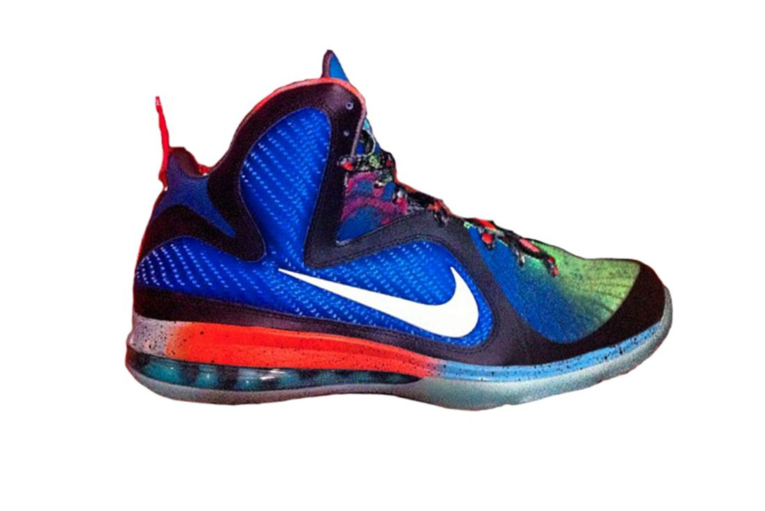 Nike LeBron 9 What the LeBron 2012 Right