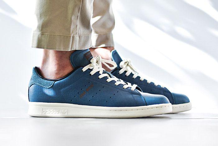 Adidas Stan Smith Horween Indigo Blue 4