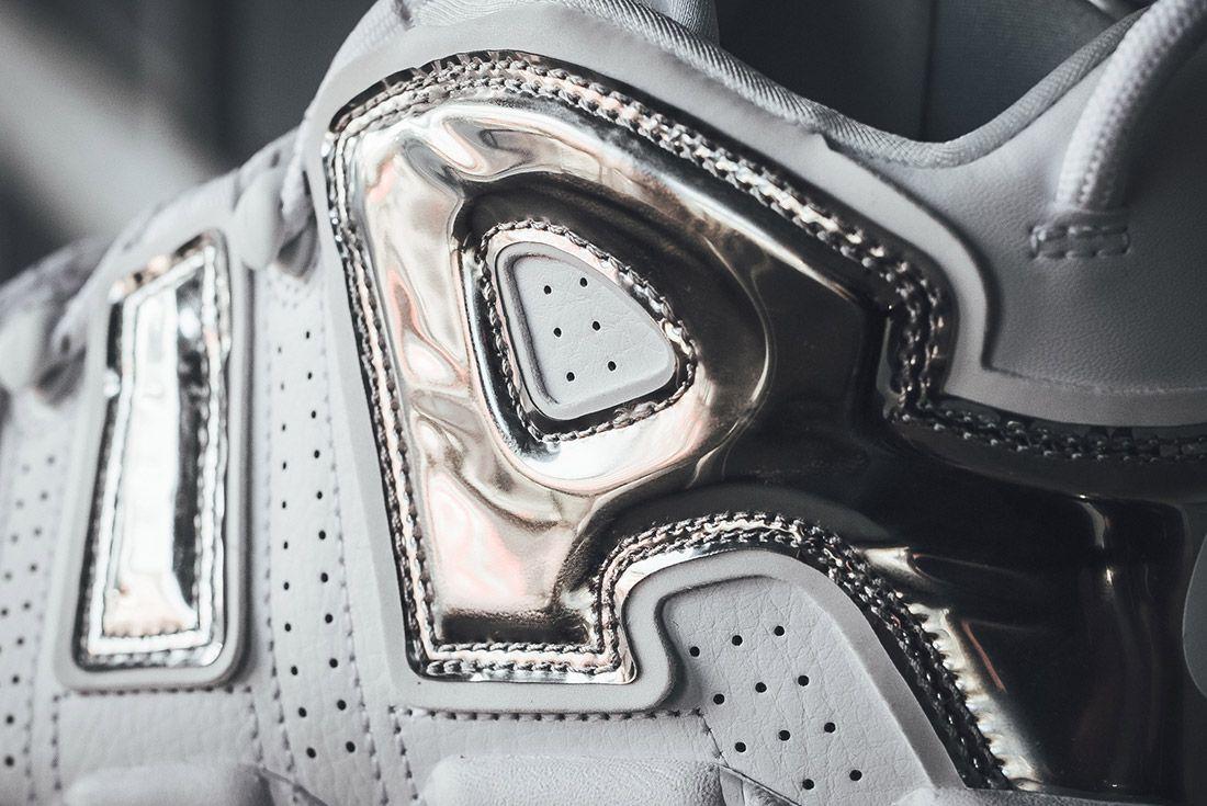 Nike Air More Uptempo White Chrome 3