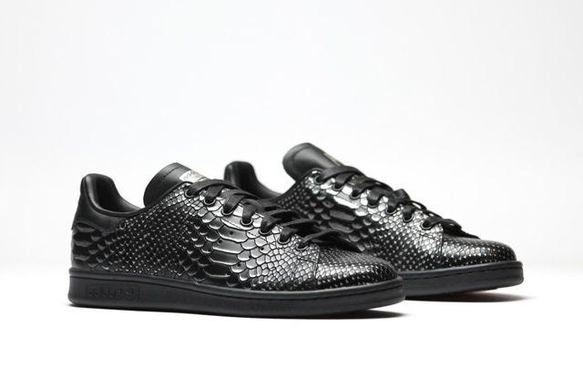 Adidas Originals Stan Smith Black Reptile 2