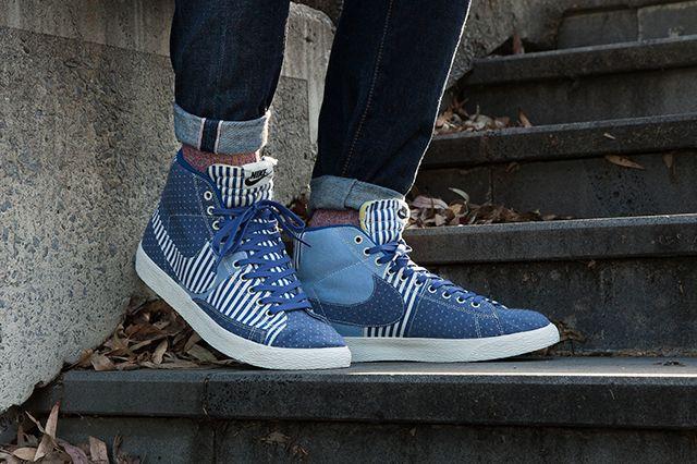 Nike Blazer Mid Patchwork 3
