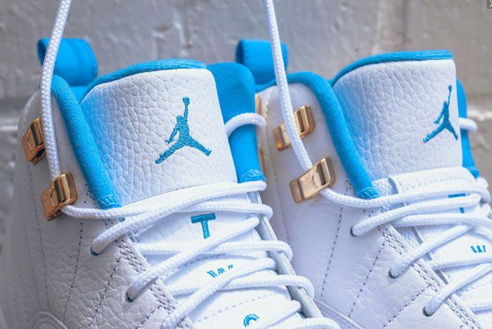 Air Jordan 12 Gs 9 University Blue 3