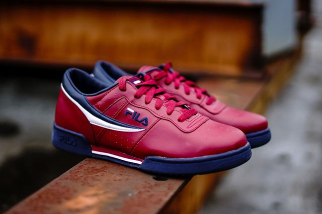 Fila Original Fitness Burgundy