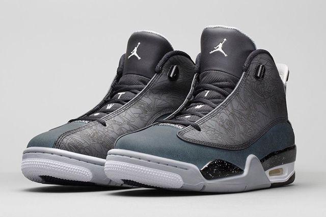 Jordan Dub Zero Classic Charcoal 1