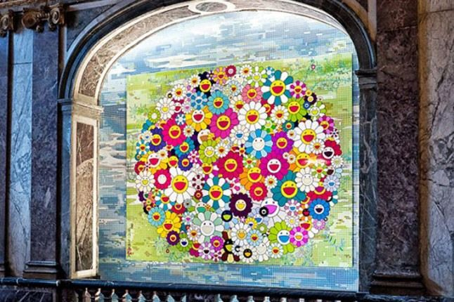 Takashi Murakami Exhibition Versailles 6 540X359 1