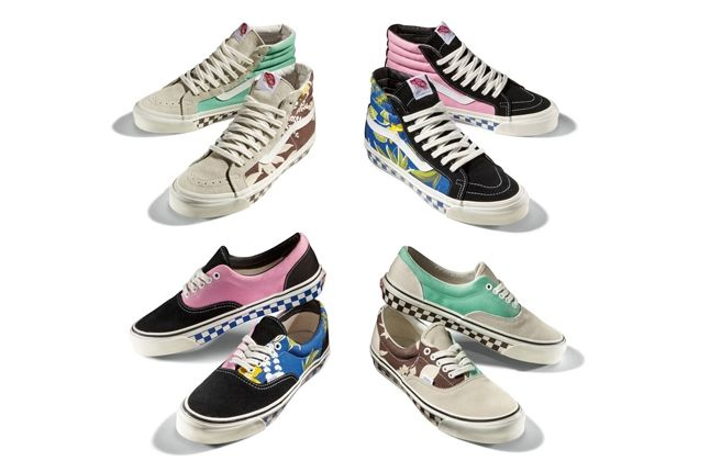 Vault By Vans Og Era Lx And Og Sk8 Hi Lx Aloha Pack Spring 2013 1