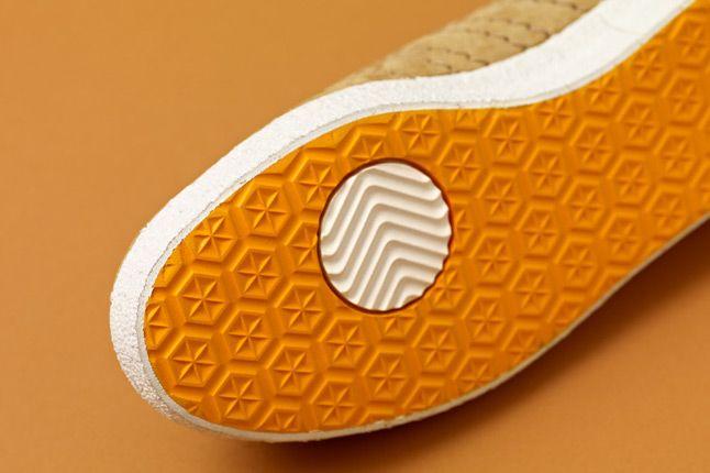 Adidas Consortium Gazelle Vintage Woodwood Sole 1