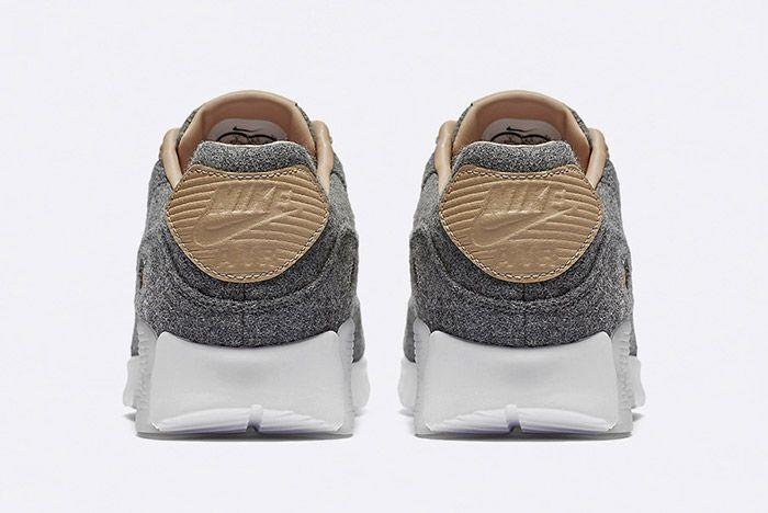 Nike Air Max 90 Ultra Premium Wool Vachetta Tan Leather 3