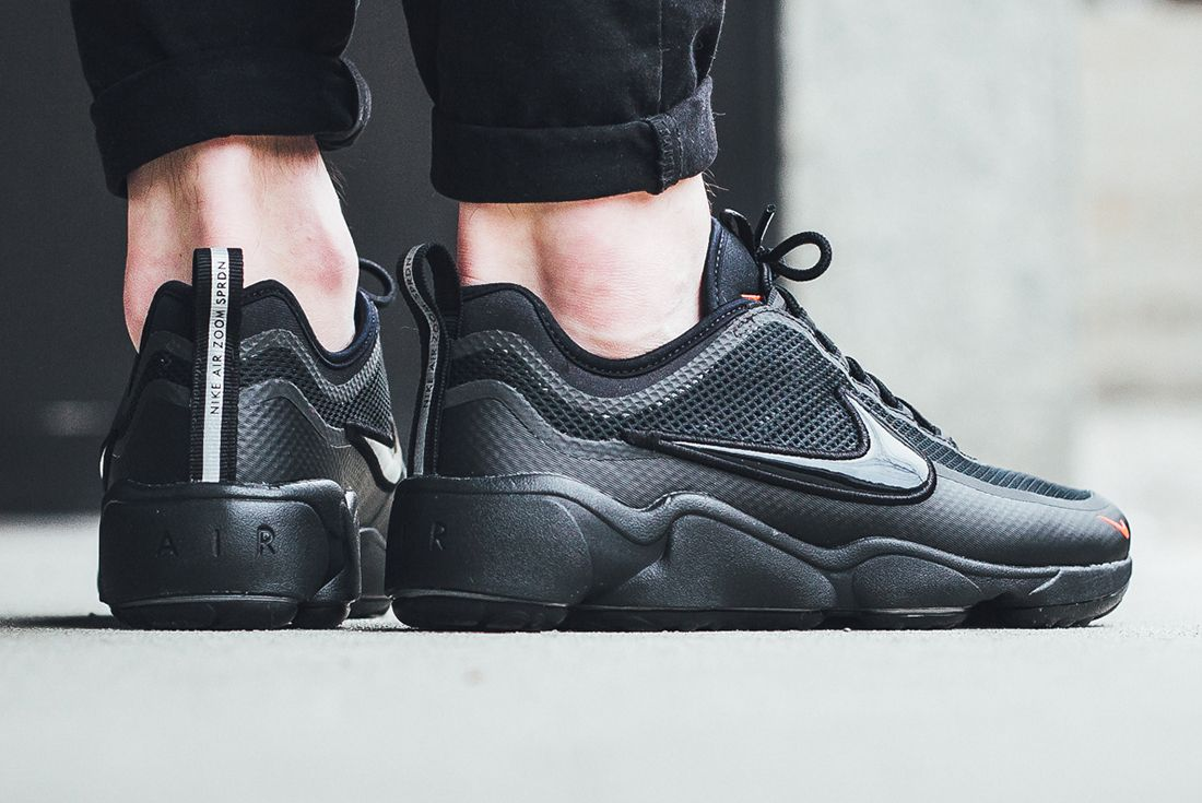 Nike Air Zoom Spiridon Blackred 3