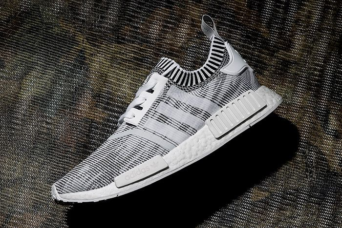 Adidas0 Nmd R1 Primeknit White Linen Khaki Black 8