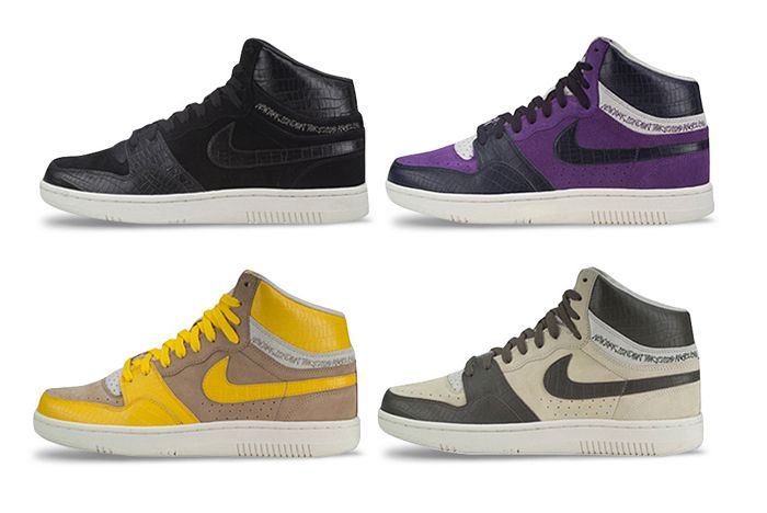 Stussy Nike Court Force X All Pairs Lateral Side