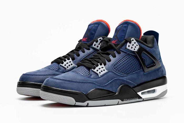 Air Jordan 4 Wntr Loyal Blue Cq9597 401 Release Date Pair