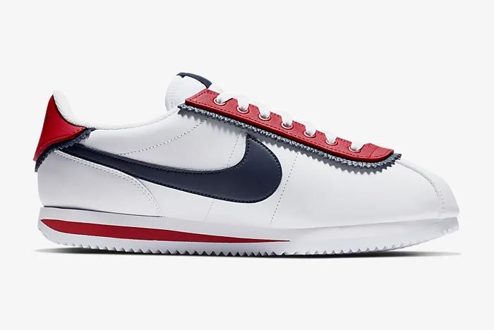 Nike Cortez Basic Se University Red Medial